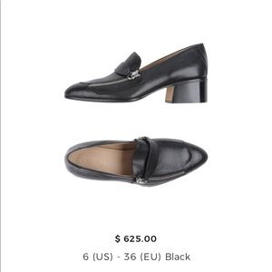 Chloe Loafers with Zip Detail - size 6 36